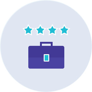 Let visitors rate each business listing